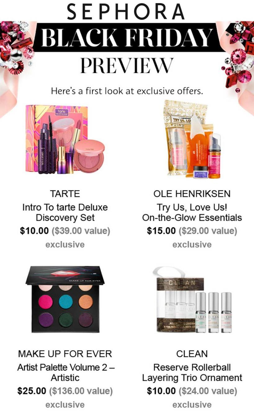 Sephora Black Friday 2017 Ads, Deals and Sales